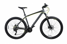 "Велосипед Comanche Maxima 27.5"", серый"