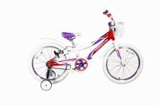 """Велосипед Comanche Butterfly W20, 9"""" бордовий"""