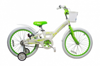 "Велосипед Comanche Florida Fly W16, 8"" салатовий"