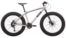 "Велосипед Pride DONUT 6.2 26"" серый 2019"