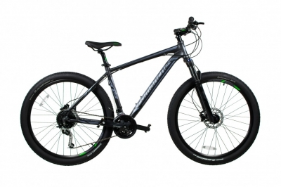 "Велосипед Comanche Vector 27.5"", серый 2019"