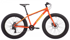 "Велосипед Pride DONUT 6.1 26"" оранж/желтый 2018"