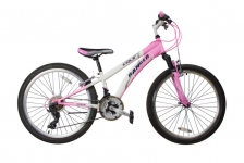 """Велосипед Ranger Colt 1.0, 24"""" розовый-белый"""