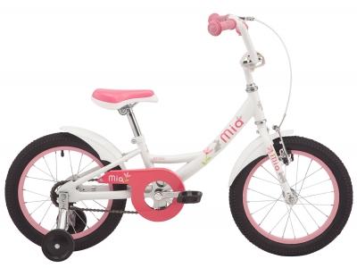 """Велосипед 16"""" Pride MIA 16 белый 2019"""