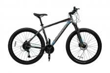 "Велосипед Comanche Backfire 27.5"", серый"